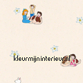 Heidi Klara en Peter behang papier peint Kleurmijninterieur Maja Wickie en Heidi 941981