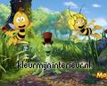 Maja Willie en Flip papier peint Kleurmijninterieur Maja Wickie en Heidi 470555