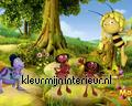 Maja en de mieren papier murales Kleurmijninterieur Maja Wickie en Heidi 470557