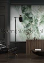 Marmer groen fototapet Kek Amsterdam Mural room set photo's