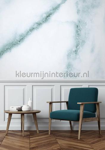 Marmer wit blauw fototapeten wp-552 Kek Amsterdam