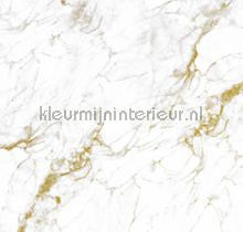 Marmer wit goud fotobehang Kek Amsterdam Modern Abstract