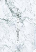 marmer wit grijs papier murales Kek Amsterdam Marmer wp-557