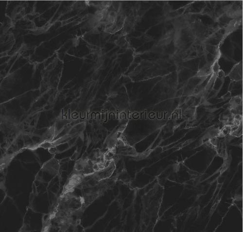Marmer zwart grijs photomural wp-561 Kek Amsterdam