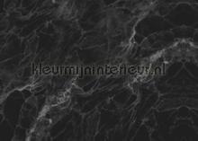 Marmer zwart grijs fotobehang Kek Amsterdam Modern Abstract
