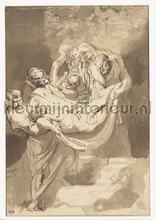 Graflegging Rubens fotobehang Kleurmijninterieur Kunst---Ambiance