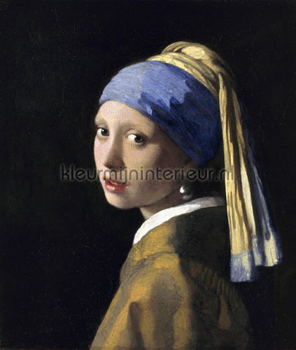 Meisje met de parel Johannes Vermeer fotobehang 0038 Kunst - Ambiance Kleurmijninterieur