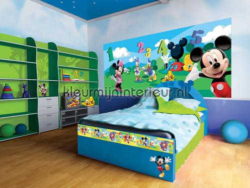 Bekend Disney Mickey & Friends fotobehang Mickey Mouse Kleurmijninterieur RN69