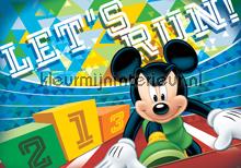 Mickey Mouse lets run fotobehang Kleurmijninterieur Disney---Pixar