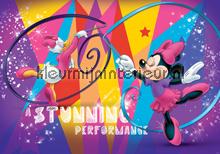 Minnie and Daisy dance fotobehang Kleurmijninterieur Disney---Pixar