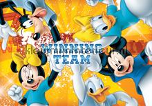 Team Mickey Mouse fotobehang Kleurmijninterieur Disney---Pixar