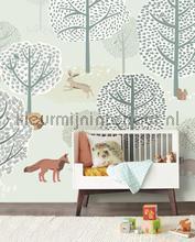 Forest animals fottobehaang Eijffinger _intrieur