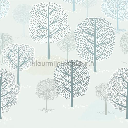 forest trees papier murales 399117 Forêts Eijffinger