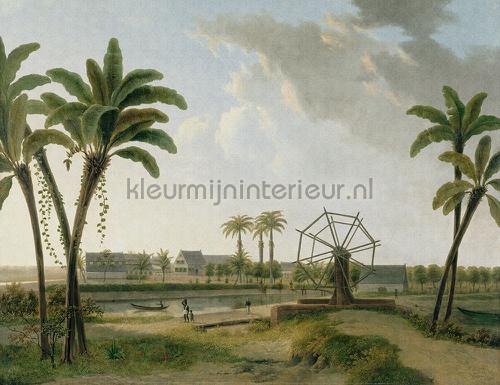 Coffee Plantation fotobehang 8001 Kunst - Ambiance Dutch Wallcoverings