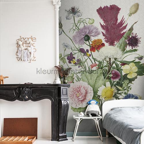 Flower bucket fotobehang 8003 Kunst - Ambiance Dutch Wallcoverings