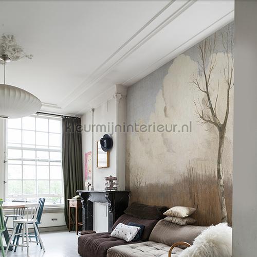 Autumn day fotobehang 8004 Kunst - Ambiance Dutch Wallcoverings
