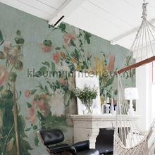 Flowers fotobehang Dutch Wallcoverings Kunst Ambiance