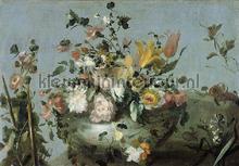 Flowers fotobehang Dutch Wallcoverings Painted Memories 8006