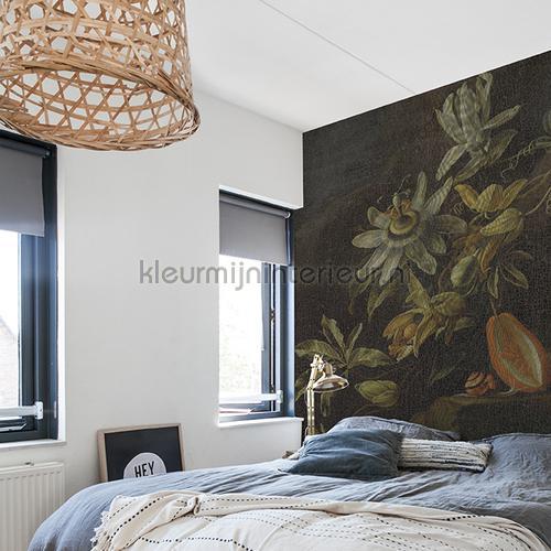 Passion flowers fotomurales 8007 Painted Memories Dutch Wallcoverings