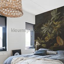 Passion flowers fotobehang Dutch Wallcoverings Kunst Ambiance