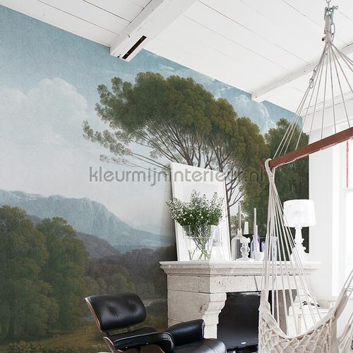 Italian landscape fotomurales 8009 Painted Memories Dutch Wallcoverings