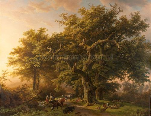 Forest fotomurales 8010 Painted Memories Dutch Wallcoverings