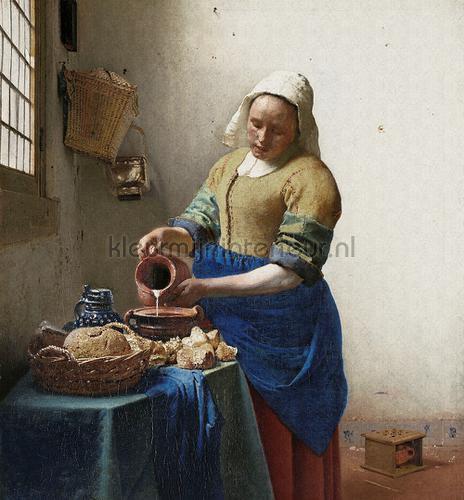 The milk girl fotomurales 8011 Painted Memories Dutch Wallcoverings
