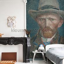 Self portrait Van Gogh fotobehang Dutch Wallcoverings Kunst Ambiance