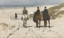 Morning Ride fotobehang Dutch Wallcoverings Kunst Ambiance