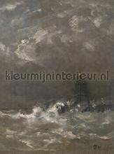 LIghthouse fotobehang Dutch Wallcoverings Kunst Ambiance
