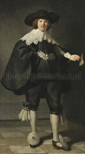 Portrait of Martin Soolman fotomurales 8020 Painted Memories Dutch Wallcoverings