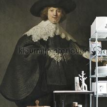Portrait of Martin Soolman fotobehang Dutch Wallcoverings Kunst Ambiance
