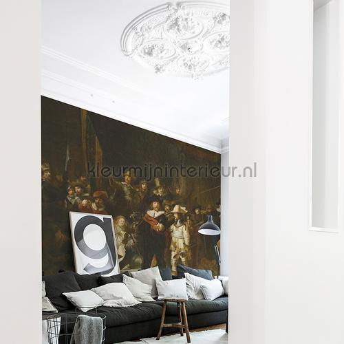 Nachtwacht fotomurales 8021 Painted Memories Dutch Wallcoverings