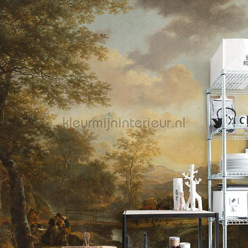 Italian landscape fotomurales 8022 Painted Memories Dutch Wallcoverings