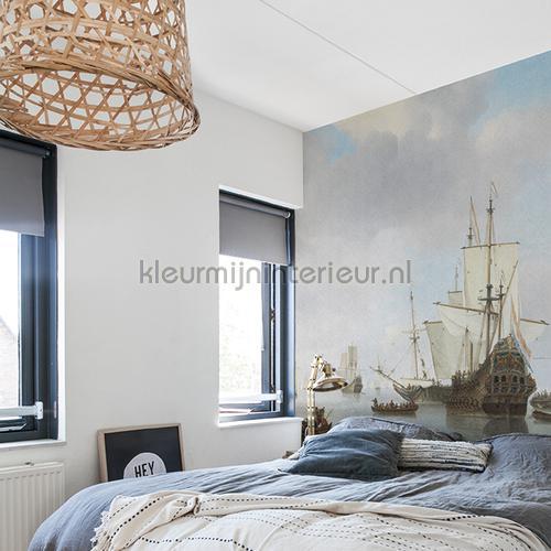Dutch ships fotomurales 8024 Painted Memories Dutch Wallcoverings