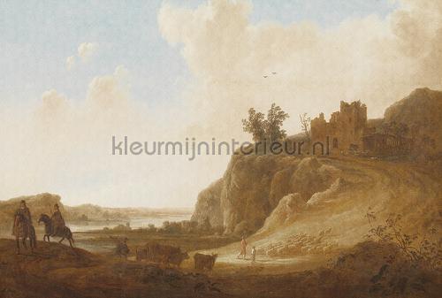 Castle ruins fotomurales 8025 Painted Memories Dutch Wallcoverings