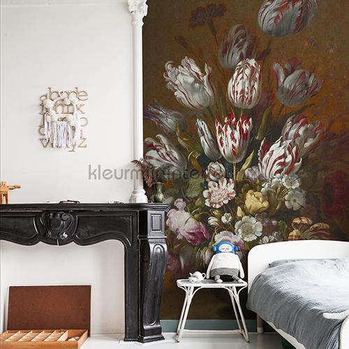Still life with flowers fotomurales 8026 Painted Memories Dutch Wallcoverings