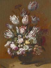 Still life with flowers fotobehang Dutch Wallcoverings Kunst Ambiance