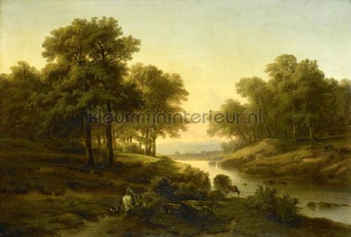 Landscape fotomurales 8031 Painted Memories Dutch Wallcoverings