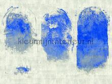 Santorin fototapet Elitis verdenskort