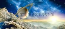 Planeet en heelal fototapeten AG Design weltraum