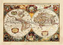 104726 photomural AG Design world maps