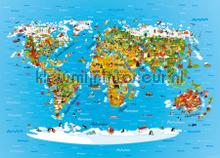 104696 photomural AG Design world maps