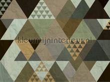 Driehoekig fotomurais AG Design PiP studio wallpaper