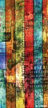 Kleurrijke banen fotobehang AG Design Modern Abstract