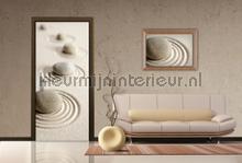 Rustgevend fotobehang AG Design Oosters Trompe loeil
