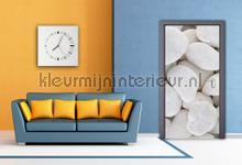 Witte stenen fotobehang AG Design Modern Abstract