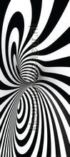 Zwart wit vormen fotomurali AG Design Photomurals Premium Collection ftn-v-2909