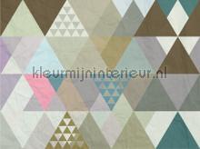 Gekleurde driehoeken fototapeten AG Design weltraum