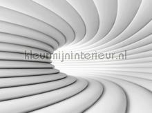 3d white way papier murales AG Design PiP studio wallpaper